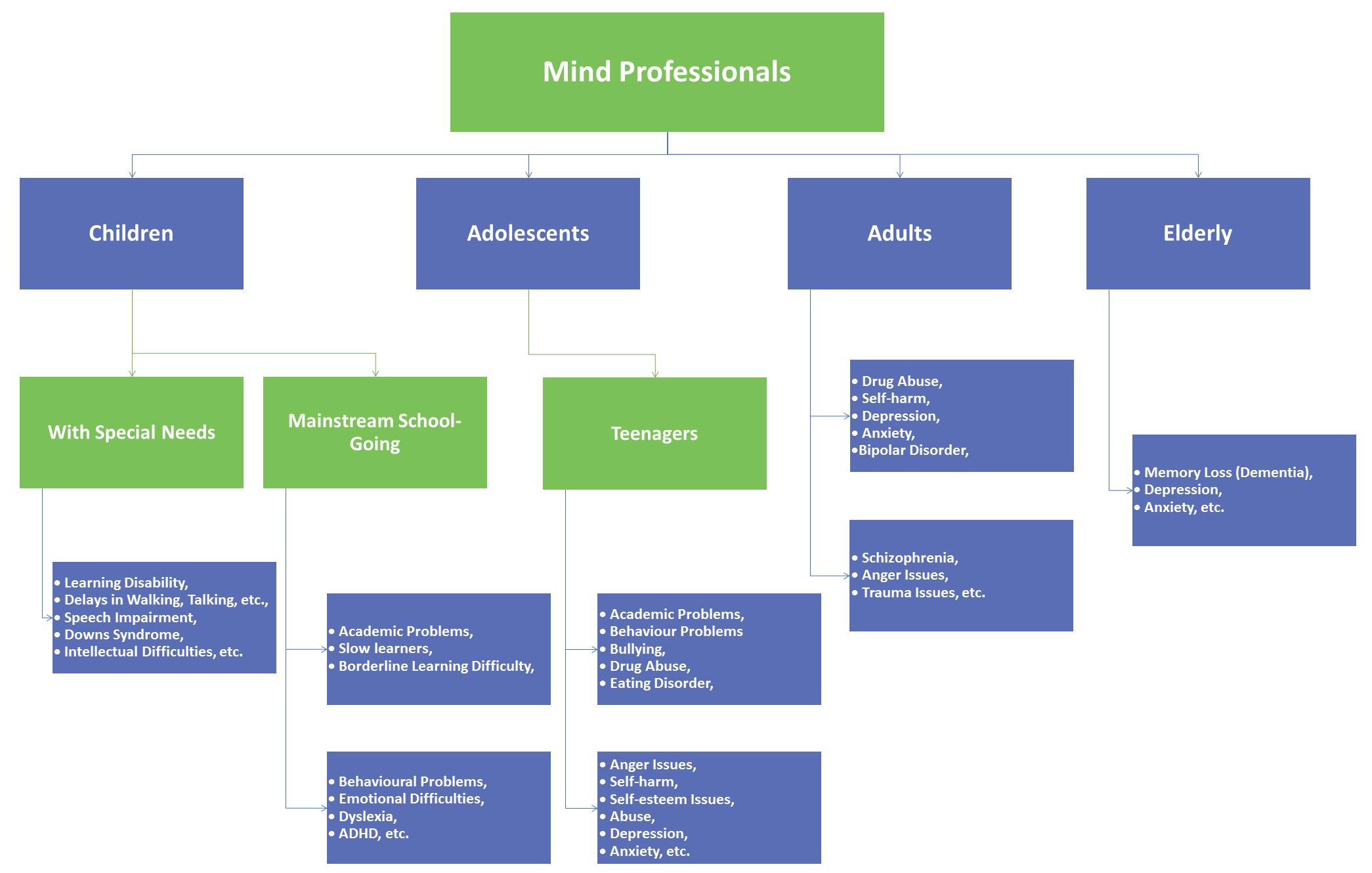 mind professionals services